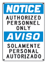 authorized personnel only s