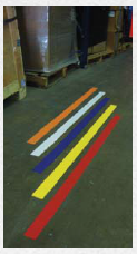 shop floor warning strips