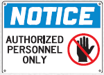 authorized personnel sign 2