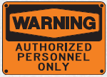 authorized personnel sign 4