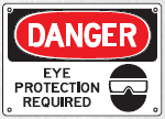 eye protection required sig