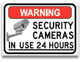Security Signs and Surveillance