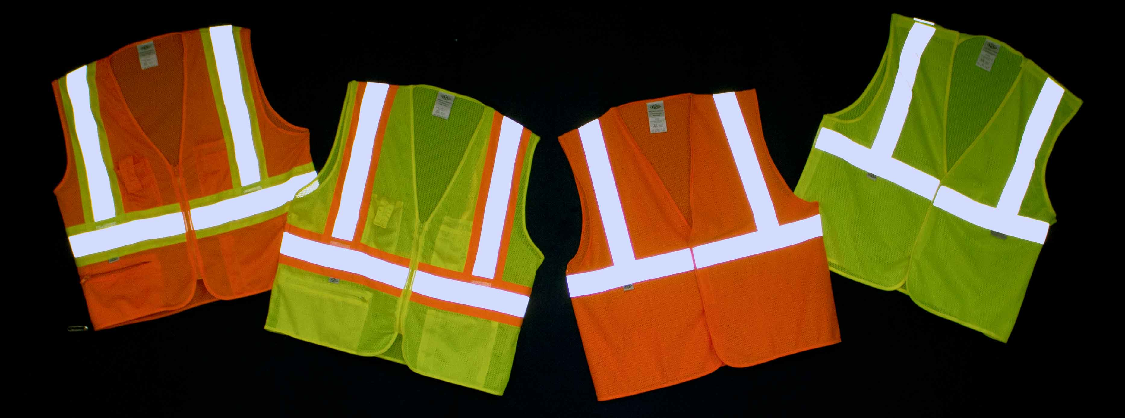 Safety Vest Collage - SA-SO Signs and Safety