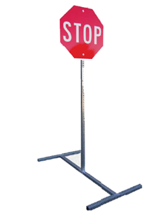 temporary sign stand