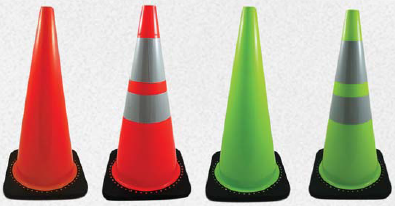 pvc molded traffic cones