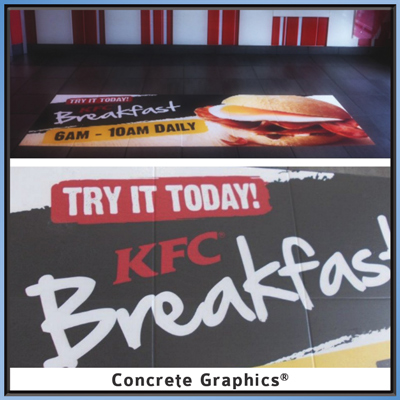 KFC promotion with Concrete Graphics