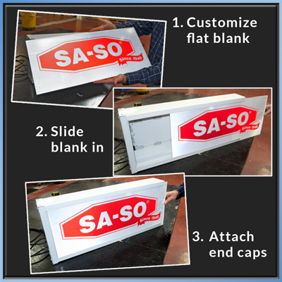 Sign Kit Assembly is Easy!