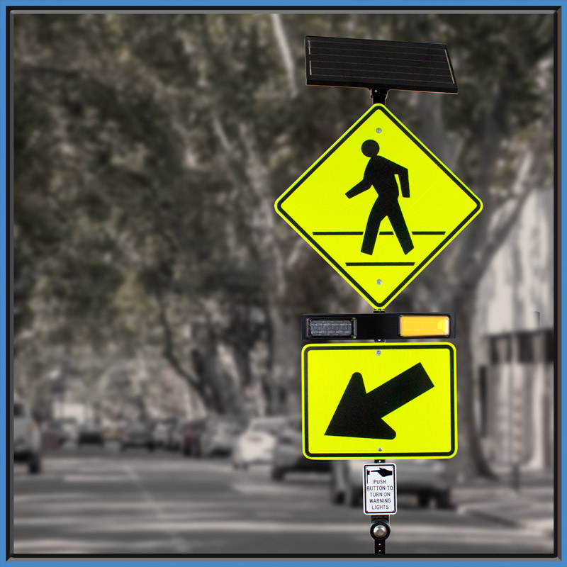 rectangular rapid flashing beacon