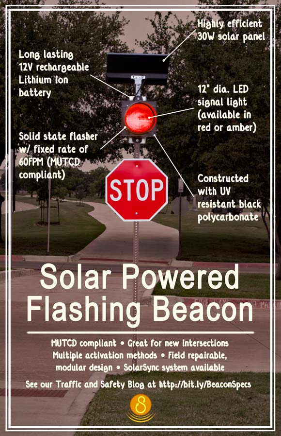 Solar Flashing Beacon Specs